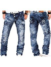 Kosmo Lupo - Jeans - Homme bleu bleu