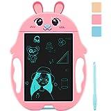 YINUODAY LCD-skrivtavla för barn, 9-tums elektronisk ritbräda Raderbar klotterplatta för barn Baby och vuxna på hemmaskolans