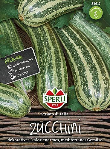 Sperli-Samen Zucchini Striato d'Italia