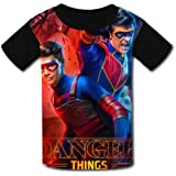 Camisetas para niños para jóvenes de Manga Corta Kid's Casual tee He-nRY Da-nG-eR 3D Print Graphics Fashion T-Shirt Hip Hop P