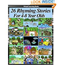 26 Rhyming Stories For 4-8 Year Olds (Childrens Rhyming Story Book) (Phonic Ebooks: Kids Picture Book (Peekaboo: Everyday Stories))