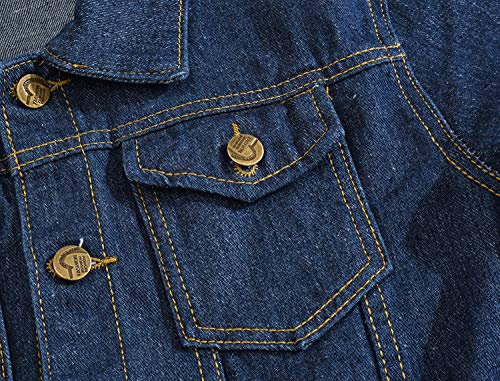Zoom IMG-3 giacca in denim da uomo