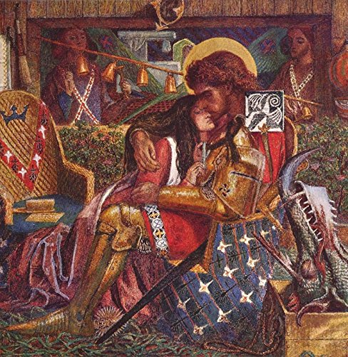 Das Museum Outlet-Die Hochzeit Von Saint George und die Prinzessin Sabra, 1857-A3Poster