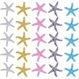 Perlas de Imitaci/ón Perlas de Limo de Resina Botones de Espalda Plana para Accesorios de Artesan/ía Scrapbooking Phone Case Decor NBEADS 200 Pieza//Caja de Resina Estrella de Mar