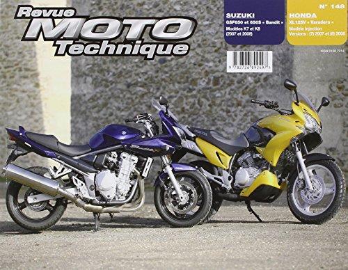 Rmt 148.1 Honda Xl125v Varadero+Suzuki Gsf650/650s