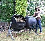 Lifetime Trommelkomposter Komposter Thermokomposter Bio-Komposter Kompost-Zwilling 380l Volumen!