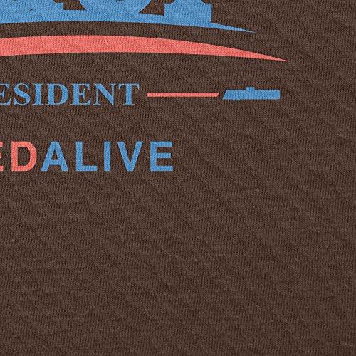 TEXLAB - Vader for President - Damen T-Shirt Braun