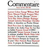 Commentaire, N° 112 Hiver 2005-20 :
