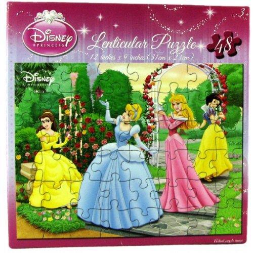 Disney Princess Lenticular Puzzle - Disney Princess Lenticular Puzzle - Belle,
