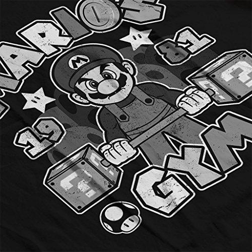 Super Marios Gym Women's Vest Black