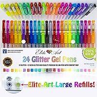 24Glitter neonglitter Penne Gel 150% 2,5x qualità