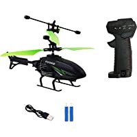 MadToys Hand Sensor Remote Control Flying Helicopter with Rechargeable Battery 2 in 1 Toys with 3D Light Toys for Boys…