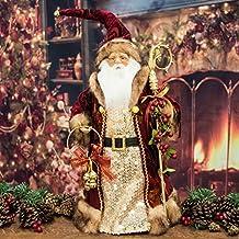 Lujo Grande figura de Papá Noel/árbol topper ...