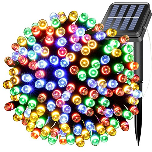 Lights 39ft 100LEDs 12M Waterproof Outdoor Decorative Fairy Twinkle Lighting for Christmas Tree,Party,Wedding,Festival Holiday,Home,Garden, Patio, Yard Decorations (Multi-color) ()