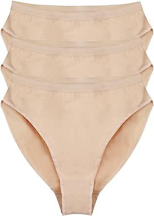 Bezioner 3 Pack Ballet Briefs Dance Pants Girls Ladies Women Dancing Knickers