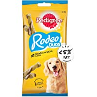 Pedigree Rodeo Adult Dog Treat, Chicken - 123 g Pack (7 Treats) (Pack of 12)