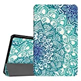 Coque Samsung Galaxy Tab A 10.1 - Fintie Slim Fit Housse Support Ultra-Mince et Léger Etui Cover avec Sleep Wake Up fonction pour Samsung Galaxy Tab A (2016) SM-T580 SM-T585 10,1' Tablette, Emerald