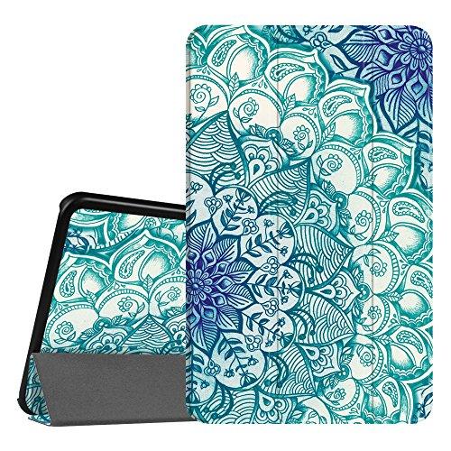 Fintie Hülle für Samsung Galaxy Tab A 10.1 - Ultra Schlank Superleicht Ständer Slim Shell Schutzhülle mit Auto Schlaf/Wach Funktion für Samsung Galaxy Tab A 10,1 Zoll T580N / T585N, Emerald