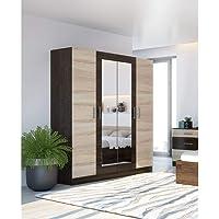 Armoire LESI 4 portes | Matériau : corps et façade en panneau de fibres de haute qualité avec surface revêtue…