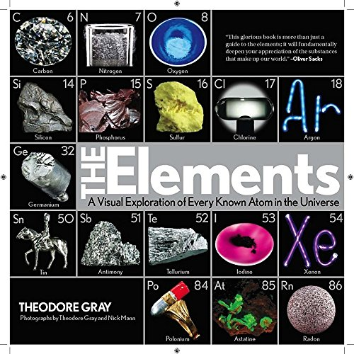 Elements: A Visual Exploration of Every Known Atom in the Universe (Tech-elemente)