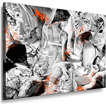Bilder Kunstdrucke / Boikal / Leinwand Bild Mit Keilrahmen Akt Erotik Sexy  Girl 100x70 Cm Xxl.687