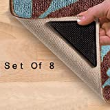 8 X Rug Carpet Mat Grippers Ruggies Non Slip Grip Corner Pad Anti Skid Reusable Washable Grips UK _ High Quality Gripper For Mat - Sundry - amazon.co.uk