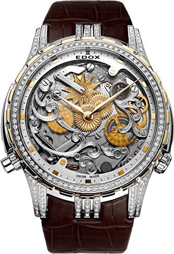 EDOX–Reloj de pulsera hombre Cape Horn Super Limited Edition ~ Tribute To Sea Dubai ~ analógico automático 87003318d2Aid