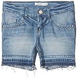 NAME IT Mädchen Nkfrandi Dnmagnete 1056 Shorts, Blau (Light Blue Denim Light Blue Denim), 158