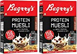 #3: Bagrry's Protein Muesli with Whey Protein , Almonds and Oats, 500g (Pack of 2)