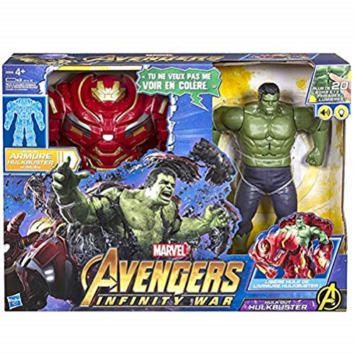 Marvel Avengers- Marvel Heroes Figurine Avengers Infinity War Hulkbuster 2 en 1 A Fonction, E0568