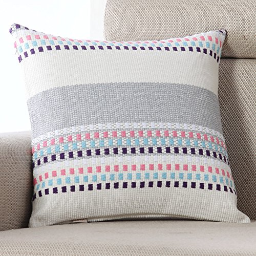 Sofa Cushion Cover,American-style Hug Pillowcase,Office Cushion Pillow-S 50x50cm(20x20inch)VersionB (50 S Hair Style)