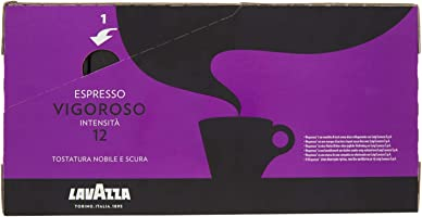 Lavazza Capsule Compatibili Nespresso Espresso Vigoroso, 10 Confezioni da 10 Capsule [100 Capsule]