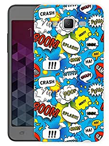 """Humor Gang Cartoon Comic Pattern Printed Designer Mobile Back Cover For """"Samsung Galaxy J5"""" (3D, Matte Finish, Premium Quality, Protective Snap On Slim Hard Phone Case, Multi Color)"""