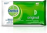 Dettol Original Antibacterial Skin Wipes 40 Count