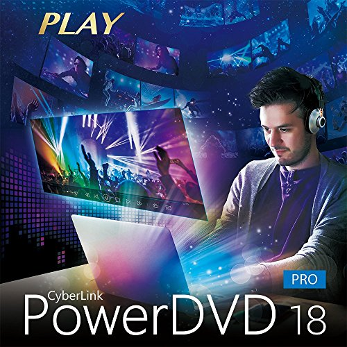 CyberLink PowerDVD 18 Pro [Download] (Dvd-media-player-software)