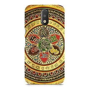 Hamee Designer Printed Hard Back Case Cover for Motorola Moto G4 Play Design 9322