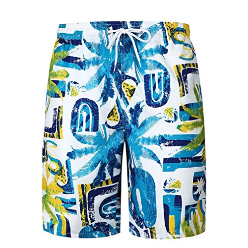 MRULIC Herren Chino-Shorts Kurze Swim Shorts Sweat ()