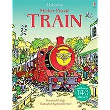 Sticker Puzzle Train (Sticker Puzzles)