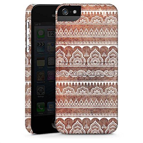 Apple iPhone X Silikon Hülle Case Schutzhülle Muster Blumen Indisch Premium Case StandUp