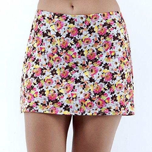 DEBLIT-Falda-pradera-Faldas-de-padeltenis-con-pantalon-Estampada-con-dibujos-de-flores-de-pradera