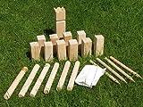 Kubb Holz Garten Spiel Wikinger Kegel Schach Spielzeug Outdoor