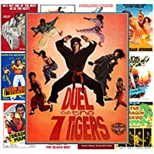 Wall Calendar 2017 [12 pages 20x30cm] Action Kung Fu Karate # Vintage Trash Movie Posters Reprint