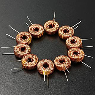 ChaRLes 10Pcs Toroid Core Inductor Wire Wind Wound Mah-100Uh 6A Rohs Cc
