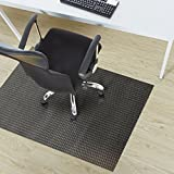 Design Bodenschutzmatte Padua in 6 Größen | dekorative Unterlegmatte für Bürostühle oder Sportgeräte (120 x 90 cm)