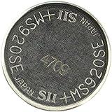 fremde/wechselnde Marke Wiederaufladbare Lithium-Knopfzelle MS920SE, 11 mAh, 3 Volt
