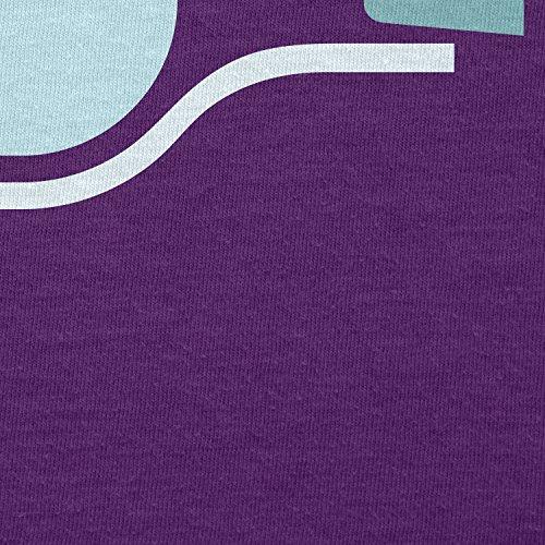 NERDO - Bottled Ship - Herren T-Shirt Violett