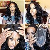 obzer frontal de EE. UU. ® Full Lace Wigs Remy pelo humano Virgen brasileño Extensiones de Pelo Body Wave Pelucas Natural Color cierre de encaje