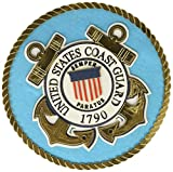 UNIFORMED USA Coast Guard Emblem die cut