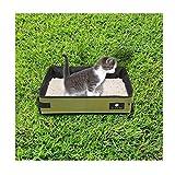 Kbsin212 - Arenero portátil para Gatos, Bandeja Plegable para Gatos, Caja Impermeable para Gatos y Gatos, para Uso en Interiores y Exteriores, con Conejo de Gato y Perro pequeño, Tela Oxford