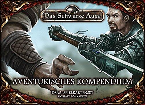 dsa5 spielkartenset DSA5 Spielkartenset Aventurisches Kompendium (Das Schwarze Auge - Zubehör)